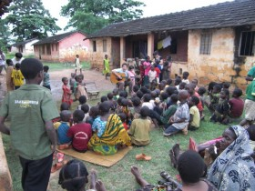 Weekly kids time in Kikwetu village