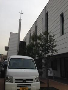 車と荻窪教会