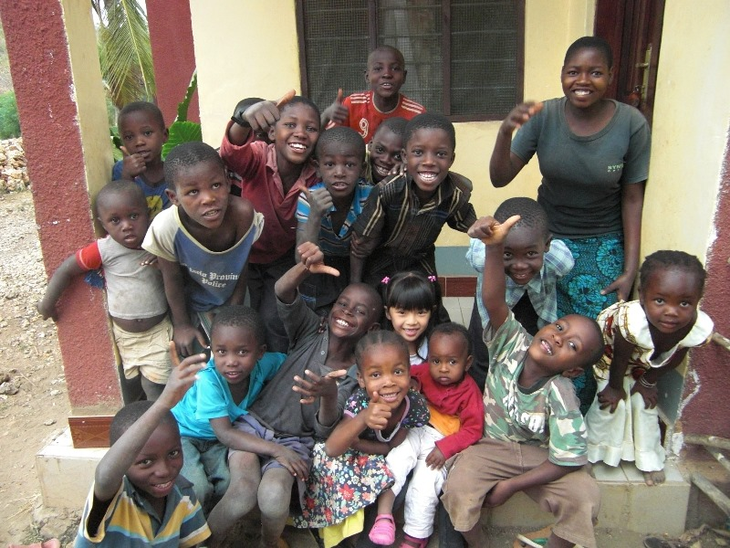 Kids in Mchinga