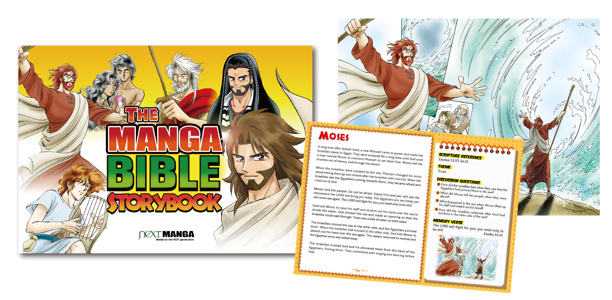The Manga Bible Storybook