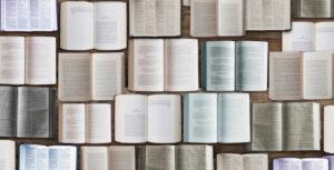 色々な種類の聖書